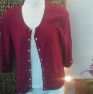 Berry sweater WHBM size Small
